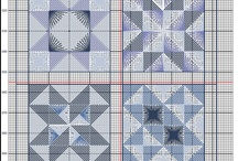 Freebies de Brodeuse Bressane / Blackwork patterns by Brodeuse Bressane, free to stitch for personal use