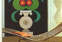 70's / inspiration for a 70's modest&modern home: images from the past and the present