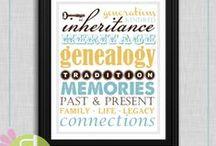 Genealogy / by junie peacock