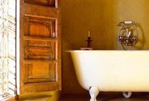 Lovable hammam style bathrooms / colourfull and oriental