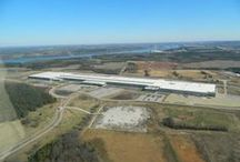 Shoals Progress / The Shoals is growing! Pins of construction and new businesses in The Shoals, Alabama.