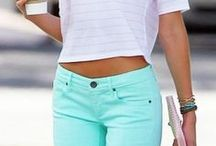 Mint / Turquoise / Very fresh color, perfect for spring and summer. / by Nerea Valverde