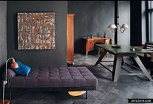 Lovable black and grey walls / grey and black wall ideas Italian plaster and many other ways