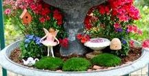 Fairy Gardens / All about fairy and mini gardens. Great examples, DIY instructions and lots of inspiration.