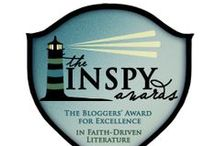 The INSPY Awards / Recognizing the need for a new kind of book award, the INSPYs were created by bloggers to discover and highlight the very best in literature that grapples with expressions of the Christian faith. Find us inspys.com or Contact us at inspyawards@gmail.com