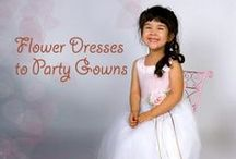 Girls / Choose from our cutest selection of formal dresses and kimonas for your little dolls.