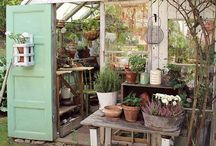 Garden Sheds / A broad look at all types of garden sheds, from the upscale to the country style.