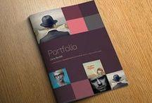 Brochure and portfolio design inspiration / Lots of lovely high quality brochure and portfolio design