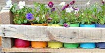 Garden DIY & Crafts / Easy and quick garden themed ideas to make and enjoy. DIY projects and ideas for your garden and patio.