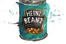 Eat   Illustrated / Amazing illustrated prints of yummy food and drink  / by Heather Duff