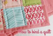 Quilt Binding Ideas