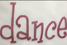 Dance and Cheer / Dance, cheer, flag, and gymnastic bling designs
