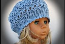 Knit and crochet for child / My knitted and crochet hats for children