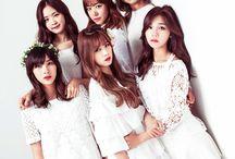 Apink (에이핑크) / Apink (에이핑크) - Chorong, Namjoo, Eunji, Bomi, Hayoung, Naeun | Former Members: Yookyung | Bias: Bomi