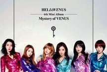 Hello Venus (헬로비너스) / Hello Venus (헬로비너스) - Alice, Lime, Nara, Yeoreum, Seoyoung, Yooyoung | Former Members: Yoonjo, Yoo Ara | Bias: Lime