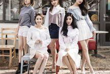 Fiestar (피에스타) / Fiestar (피에스타) - Linzy, Hyemi, Jei, Cao Lu, Yezi | Former Member: Cheska | Bias: Linzy