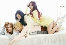 Dal Shabet (달샤벳) / Dal★Shabet (달샤벳) - Serri, Ahyoung, Subin, Woohee | Former Members: Kaeun, Jiyul, Viki | Bias: Woohee