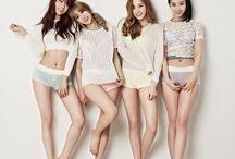 BESTie (베스티) / BESTie (베스티) - Hyeyeon, Haeryung | Former Members: Uji & Dahye | Bias: Dahye
