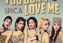 Spica (스피카) / Spica (스피카) - BoA, Narae, Sihyun, Jiwon, Bohyung | Bias: Bohyung