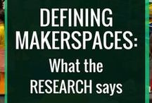 "Makerspace / Resources to help you MAKE your own SPACE... ""A makerspace is a place where students can gather to create, invent, tinker, explore and discover using a variety of tools and materials"". -http://renovatedlearning.com/2015/04/02/defining-makerspaces-part-1/"