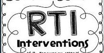 RTI - Response To Intervention / RTI - Response To Intervention resources and ideas to help implement this strategy in our schools.