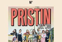 PRISTIN (프리스틴) / PRISTIN (프리스틴) - Nayoung, Eunwoo, Xiyeon, Kyulkyung, Roa, Yuha, Rena, Yehana, Sungyeon, Kyla (On Hiatus) |  Bias: Roa/Eunwoo