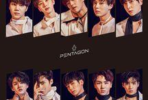 PENTAGON (펜타곤) / PENTAGON (펜타곤) - Jinho, Hui, E'Dawn, Yuto, Kino, Wooseok, Hongseok, Yanan, Shinwon, Yeo One | Bias: Jinho/Yeo One