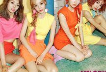 Melody Day (멜로디데이) / Melody Day (멜로디데이) - Yoomin, Yeoeun, Yein, Chahee | Bias: Chahee