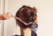 Hairbun Styles / Very elegant style