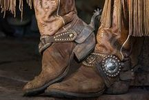 Cowgirl Boots & Spurs / by H S