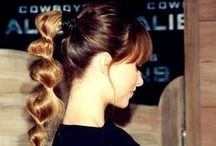 Ponytail Hairstyle / These were my fave when I was a lil girl :) and still is ♥