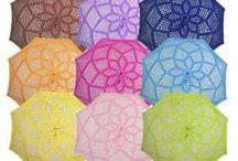 UMBRELLAS - OMBRELLI - PARAPLUIES - SCHIRME / All sorts of umbrellas