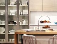 Aluminum Frame Cabinet Doors / Aluminum frame cabinet doors add contemporary style to kitchen, bath and furniture designs.