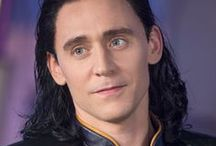 """Tom Hiddleston as Loki in the Marvel Cinematic Universe / """"I had to find his smile, his innate love of anarchy and chaos."""" [Tom Hiddleston]. Tom played Loki four times: Thor (2011), The Avengers (2012), Thor: The Dark World (2013) & Thor: Ragnarok (2017)."""