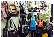 Purses and Handbags galore! / Some of the purses, handbags, luggage and clutches we've received at our stores!         *Liberty Thrift is not able to claim or verify authenticity of any purse or bag.
