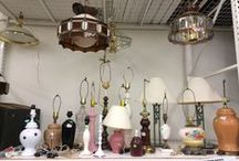 Liberty Lamps / The various lamps we get in at our Thrift stores!