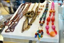 Jewelry / The different rings, bracelets, necklaces, pins, and other jewelry that we get in at our thrift stores!