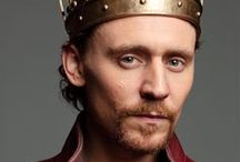 """Tom Hiddleston as Henry V/Prince Hal in The Hollow Crown