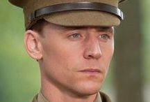 """Tom Hiddleston as Captain Nicholls in War Horse