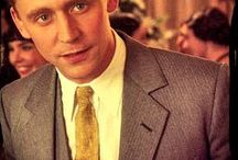 """Tom Hiddleston as F. Scott Fitzgerald in Midnight in Paris. Written & directed by Woody Allen