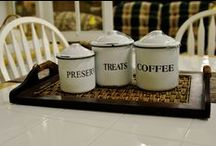 For the Kitchen / The various kitchen items we get in at Liberty Thrift!
