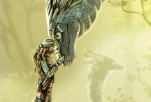 Dragones / Dragones que puedo dibujar