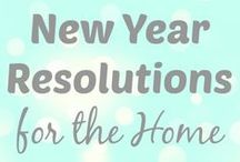 A New Year / Kick off the new year with these helpful tips to help you keep your resolutions!