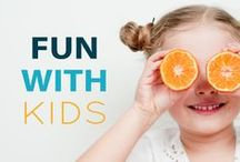 Fun with Kids! / Entertaining crafts and activities for families to have fun together.