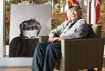 """Phil Stern / Philip """"Snapdragon"""" Stern (September 3, 1919 – December 13, 2014) was an American photographer noted for his iconic portraits of Hollywood stars, as well as his war photography while serving as a U.S. Army Ranger in the """"Darby's Rangers"""" unit in the North African and Italian campaigns during World War II. / by A De Andres"""
