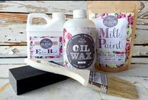 Sweet Pickins Milk Paint. / Sweet Pickins Milk Paint and Finishing Products.Furniture finished using Sweet Pickins Milk Paint