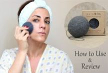 How to Use Konjac Sponges / Tutorials on how you can use your pureSOL Konjac Sponges