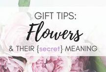 Gift Tips | Flowers & Their Meanings / Flowers have their own language - just need to learn it! It's easy  :) Read more on http://www.bestgiftidea.net meaning of flowers | how to choose flowers for occasions | the meaning of flowers | meaningful flower bouquet | flower messages | flower language |  flowers and occasions | choosing right flowers