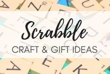 Scrabble Craft Ideas / Gift ideas for those who love Scrabble (just as much as I do). Find tons of great ideas for DIY Scrabble gifts for that Scrabble freak
