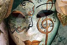 Masquerades ♣ ♦ x ♦ ♣ / Carnival, mask, costume